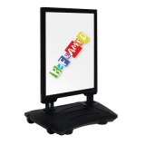 Wind Pro Forecourt Sign - Black