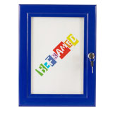Lockable Poster Case - Blue