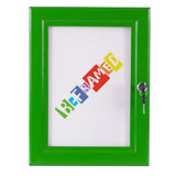 Lockable Poster Case - Green
